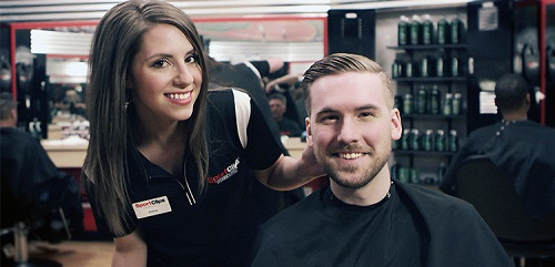 Sport Clips Haircuts of Hy-Vee East Madison​ stylist hair cut